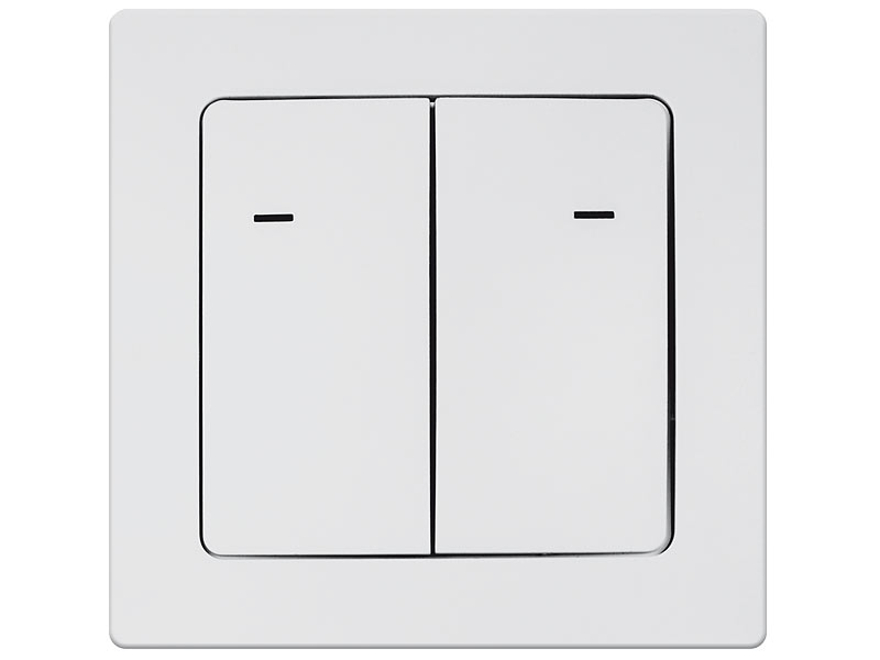 CASAcontrol Funk-Lichtschalter doppelt