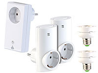 CASAcontrol Smart-Home-Systeme Smart WiFi Starter-Set; Funksteckdosen Funksteckdosen